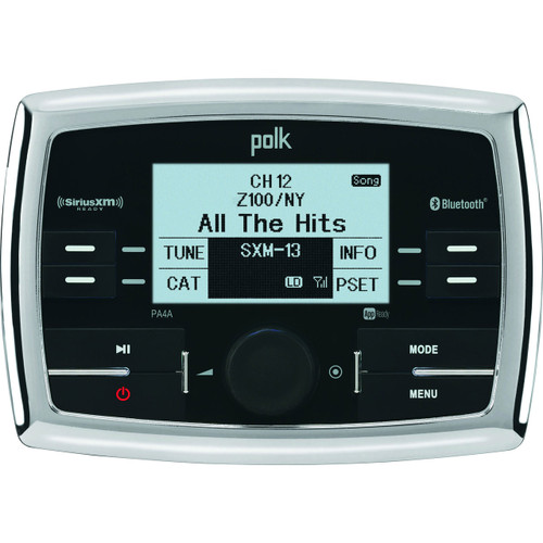 Polk Marine AM/FM/USB/BT Radio, IPhone/IPod & SiriusXM Ready