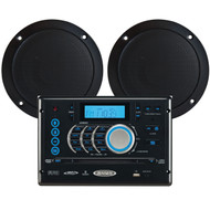 "Jensen Bluetooth Stereo w/ Two 5"" Dual Cone Speakers"
