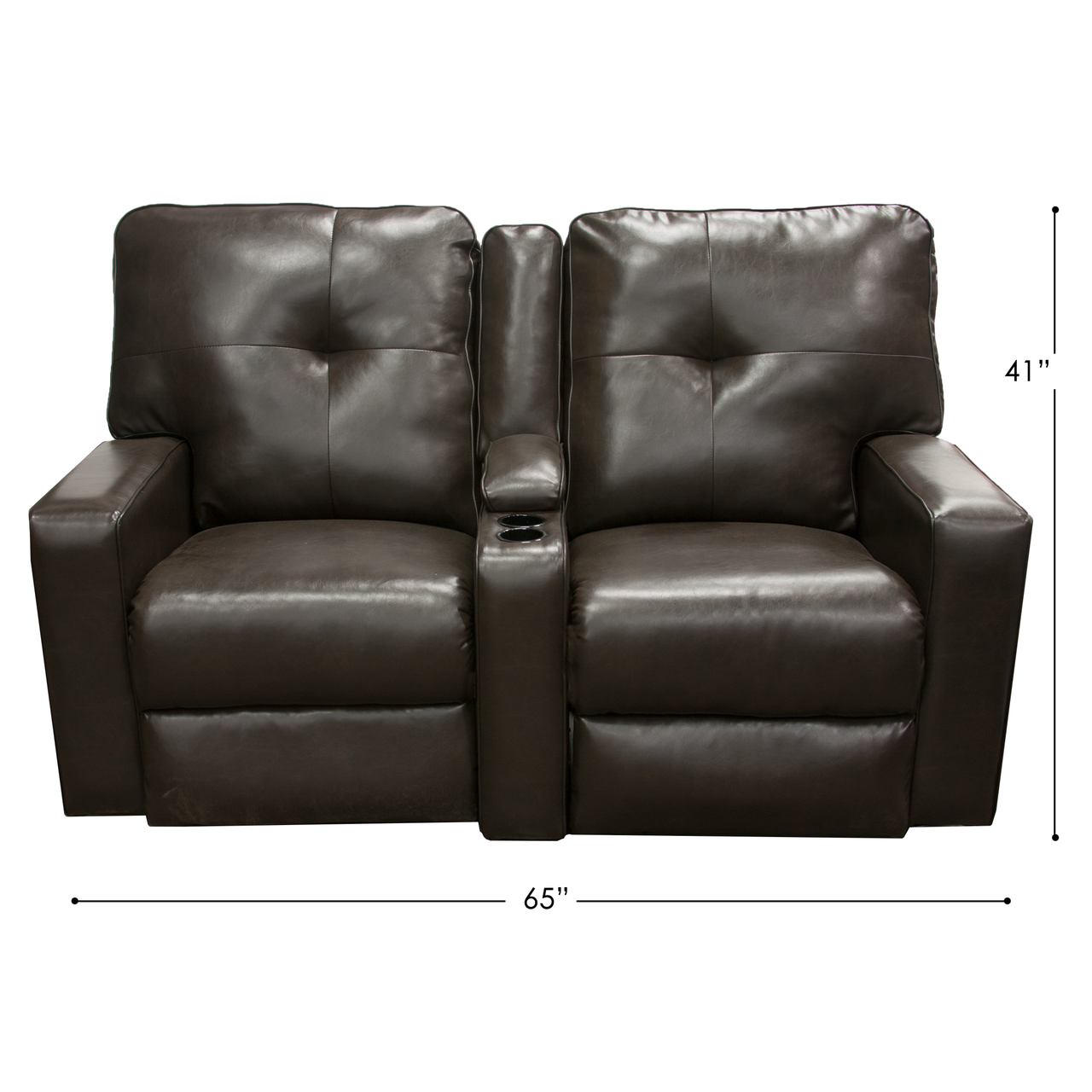 Chocolate Rv Reclining Couch Rv Parts Nation