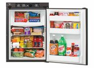 2-WAY RV REFRIGERATOR 2.7 CUBIC FT BUILT-IN FLANGE BLACK TRIM