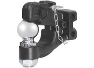 CHANNEL-MOUNT FORGED PINTLE W/2 5/16IN BALL