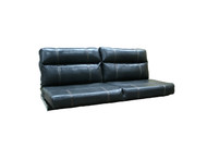 "59"" RV Flip Sofa Black"