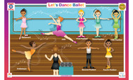 Let's Dance: Ballet Placemat