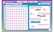 Let's Learn: Multiplication Placemat