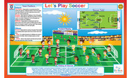 Let's Play: Soccer Placemat