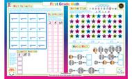 First Grade Math Placemat