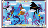Jazz Music Placemat