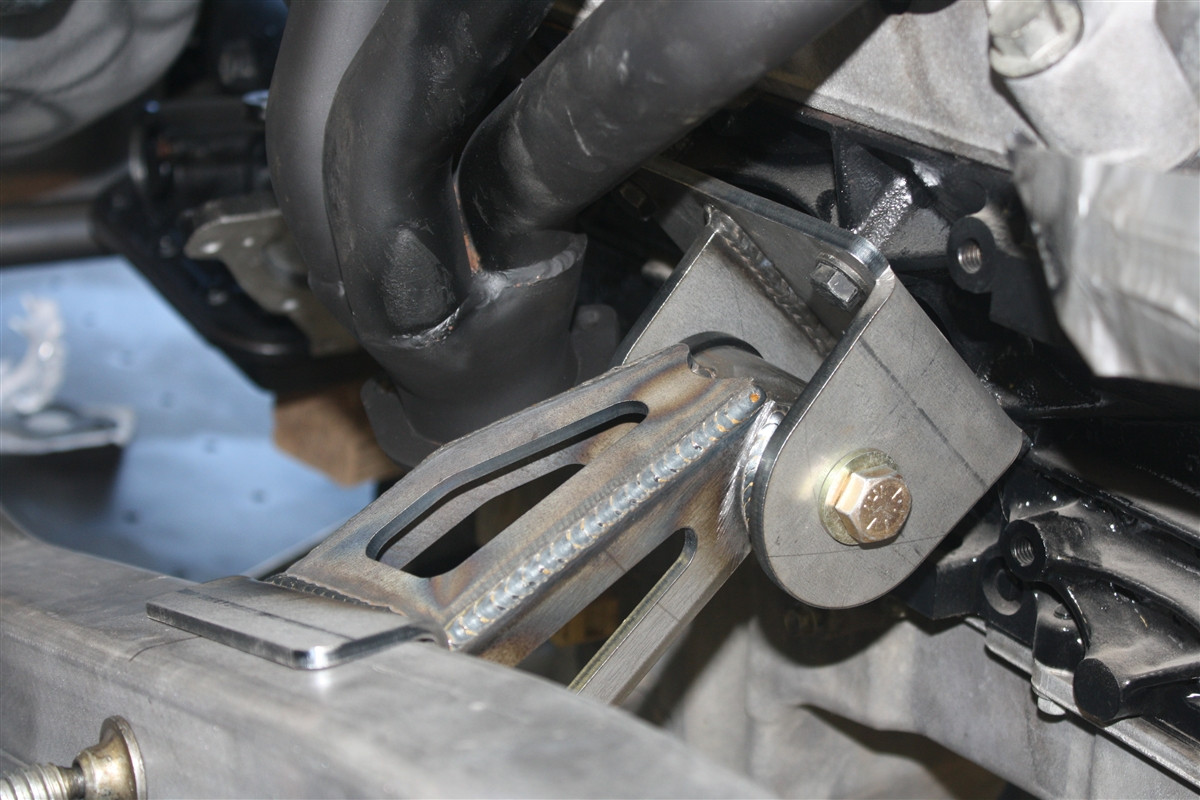 Jeep YJ LS Series and Gen III Conversion Engine Mounts