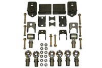 "Heavy-Duty Universal Rear 4-Link Kit with 1"" and 1 1/4"" Rod Ends"