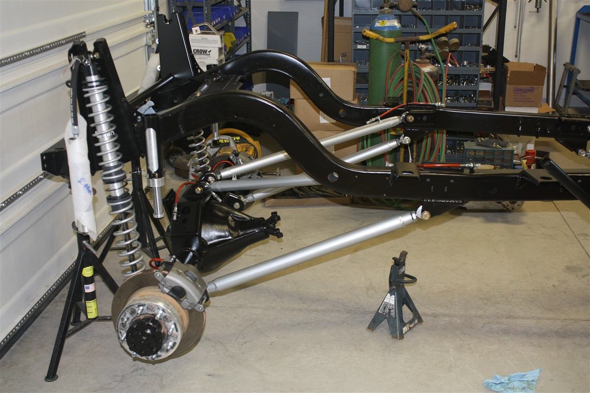 Rear Outboard Shock Tower Kit