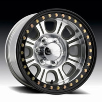 Raceline RT233 Monster 17x9.5 Beadlock Wheel 5x5