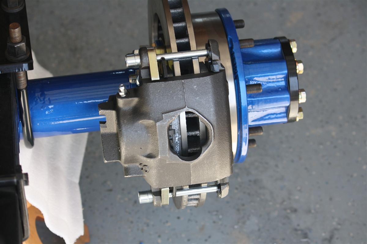 Dana 70U Rear Disc Brake Bracket Kit