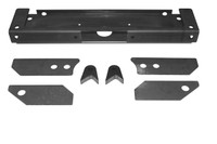 Jeep YJ Hardcore Front Bumper Crossmember Assembly