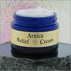 Arnica Relief Cream™, 2 oz, Jar - Pure Pro: Quality, Professional Massage Products, Aromatherapy, Esthetician, Chiropractic, Alternative Health and Physical Therapy Supplies from Massachusetts.
