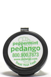 Peppermint Pedango Foot Cream™, Half oz, (sample/travel size) - Pure Pro: Quality, Professional Massage Products, Aromatherapy, Esthetician, Chiropractic, Alternative Health and Physical Therapy Supplies from Massachusetts.