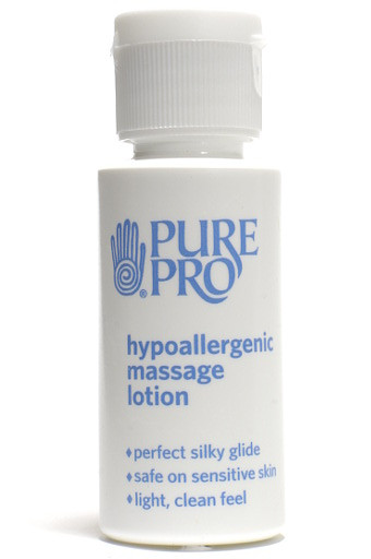 Hypoallergenic Massage Lotion™, Half oz, (sample/travel size) - Pure Pro: Quality, Professional Massage Products, Aromatherapy, Esthetician, Chiropractic, Alternative Health and Physical Therapy Supplies from Massachusetts.