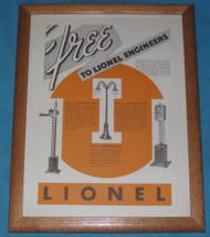 1936 (March) Lionel Corporation Advertisement (8+)