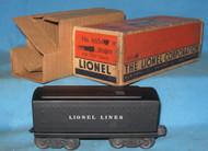 6654T Lionel Lines Tender (NOS)