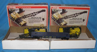 9157 C & O Flatcar with Crane: Set of Two (8/OB)