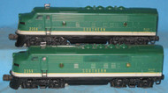 2356 Southern F3 AA Diesels (6+)
