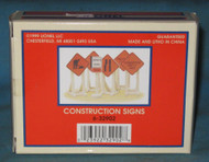 32902 Construction Zone Sign Set (10/OB)