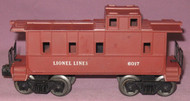 6017 Lionel Lines Caboose: Painted Bown (7)