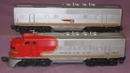 2243 Santa Fe F3 AB Diesels: Orange Mold (6+)