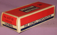 6257-50 Lionel Caboose: Box Only (9)