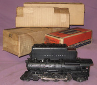 675 K-4 Pacific Steamer w/ 2466WX Tender (7/OB)