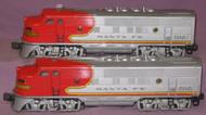 2353 Santa Fe F3 AA Diesels (6+)