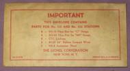 115 / 132 Passenger Stop Station Envelope (9)