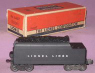 6466T Lionel Lines Non-Whistling Tender (9/OB)