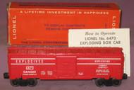 6470 Explosives Box Car (8/OB)