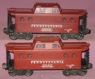 6417 Pennsylvania N5C Caboose: Set of Two (7)