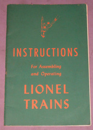 1946 Instructions For Assembling and Operating Lionel Trains (8)