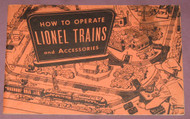 1953 How To Operate Lionel Trains & Accessories: Orange Cover (7)