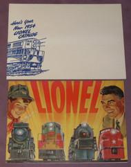 1954 Consumer Catalogue: Mini Version w/ Shipping Envelope (NOS)