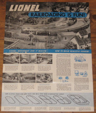 1951 Lionel Railroading Is Fun (7+)