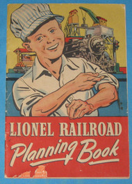 1944 Lionel Railroading Planning Book (7+)