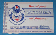 1956 How To Operate Lionel Trains and Accessories (8+)
