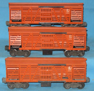 3656 Cattle Car: Set of Three (Var)