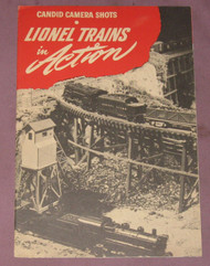 1945 Candid Camera Shot of Lionel Trains (8+)