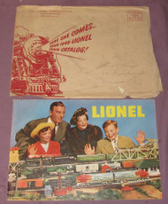 1949 Consumer Catalogue & Lionel Mailing Envelope #1 ( Var )