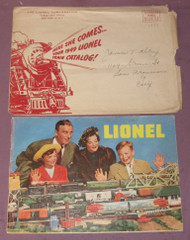 1949 Consumer Catalogue & Lionel Mailing Envelope #2 ( Var)