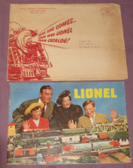 1949 Consumer Catalogue & Lionel Mailing Envelope #3 ( Var)