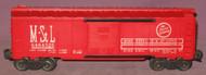 6464-525 M. & St. L Box Car (6+)
