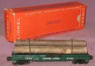 6361 Timber Transport Car (7+/OB)