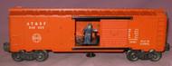 3484-25 A. T. & S. F. Oper. Box Car (6)