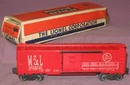 6464-525 M. & St. L Box Car (7+/OB)