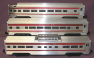 2561, 2562 & 2563 Santa Fe Passenger Set (7+)